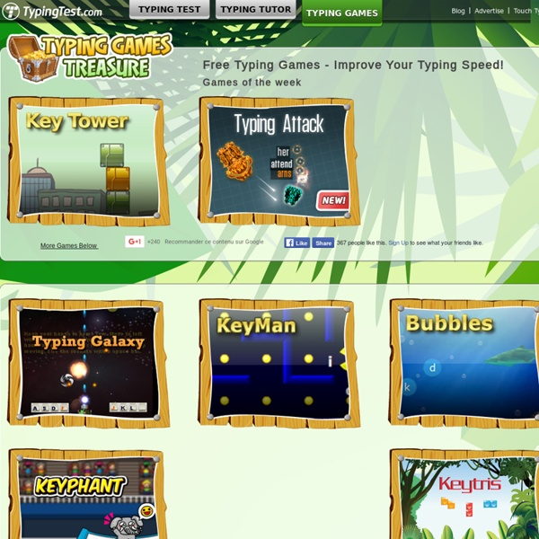 Online games to learn typing