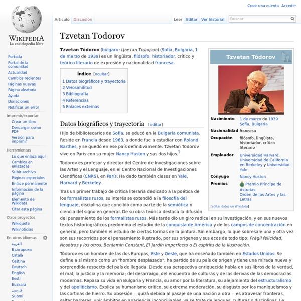 Tzvetan Todorov