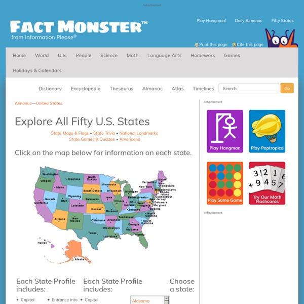 U.S. States Maps & Stats