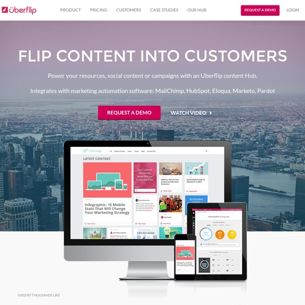 Uberflip: Contenuto Software Marketing Automation