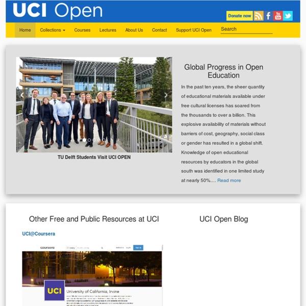 UC Irvine, OpenCourseWare
