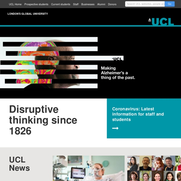 UCL - London's Global University