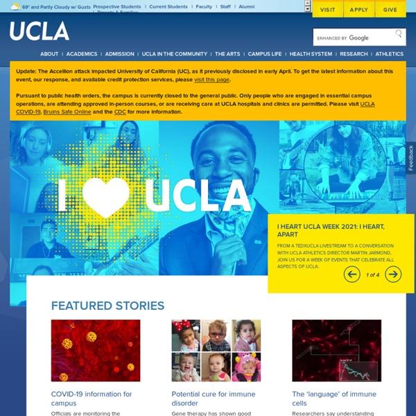 State university, university of UCLA