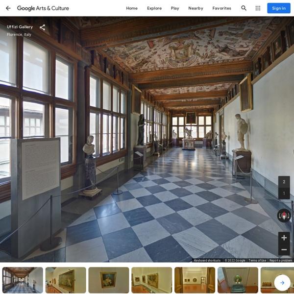 Italie : Uffizi Gallery, Florence