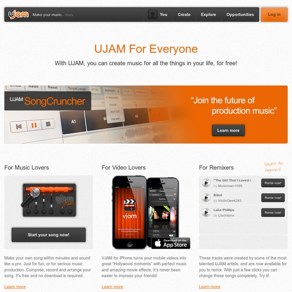 UJAM – Make your music.