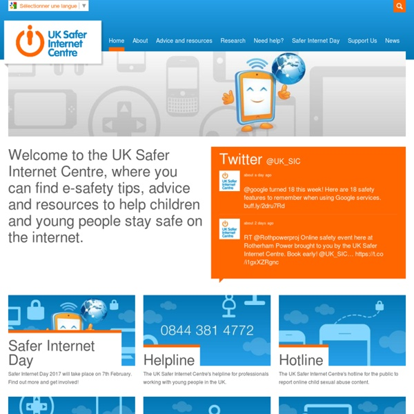 UK - Safer Internet Centre