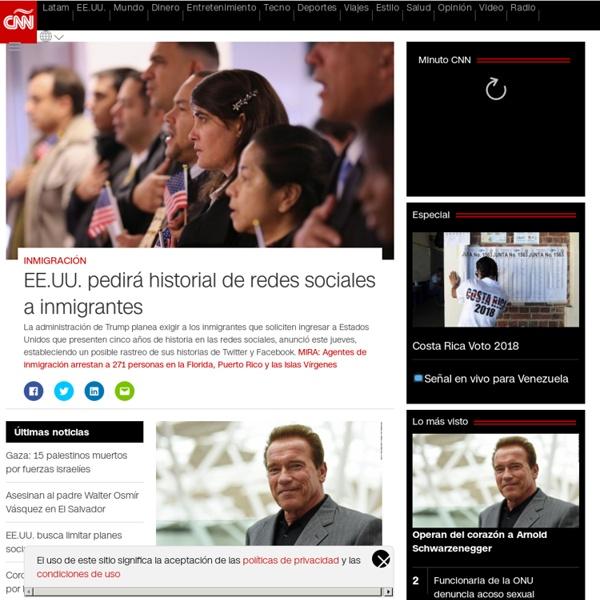 CNN en Español – Ultimas Noticias de Estados Unidos, Latinoamérica y el Mundo, Opinión y Videos - CNN.com Blogs