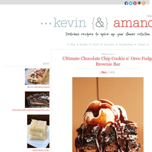 Ultimate Chocolate Chip Cookie n' Oreo Fudge Brownie Bar