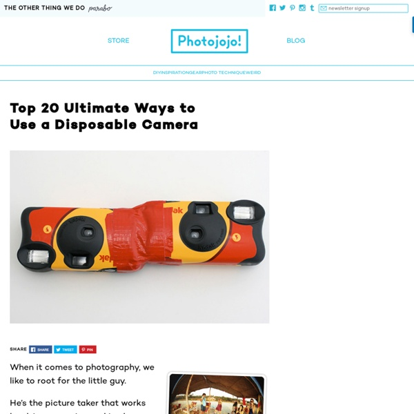 Top 20 Ultimate Ways to Use a Disposable Camera