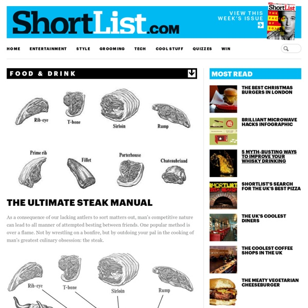 The Ultimate Steak Manual - Food