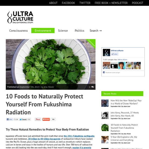 Protect Your Body From Radiation