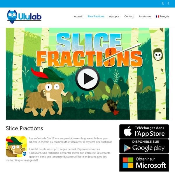 Slice Fractions - Un jeu de math