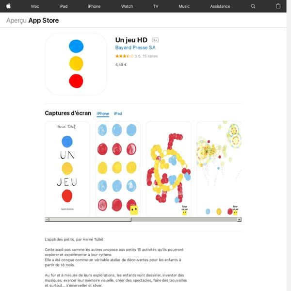 Un jeu HD pour iPhone, iPod touch et iPad dans l'App Store sur iTunes
