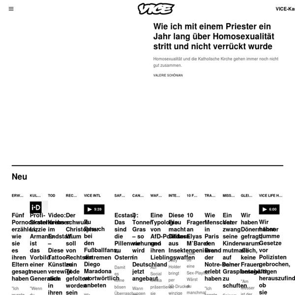 Vice Magazine Deutschland