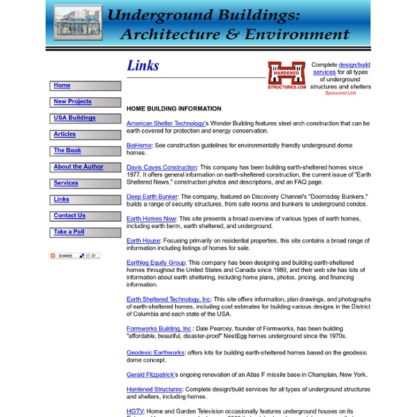 Underground Building Links