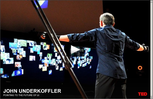 John Underkoffler points to the future of UI
