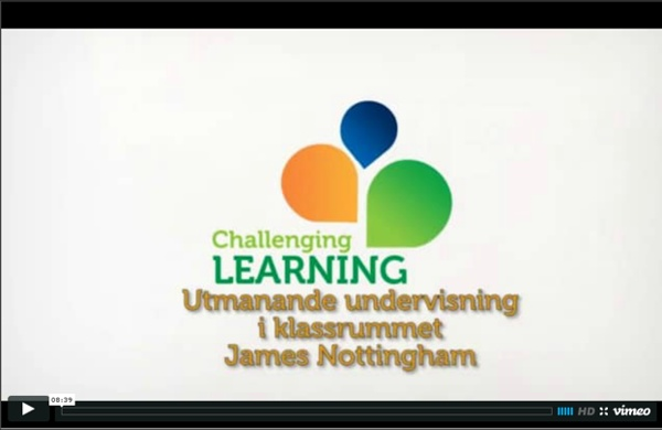 Utmanande undervisning i klassrummet