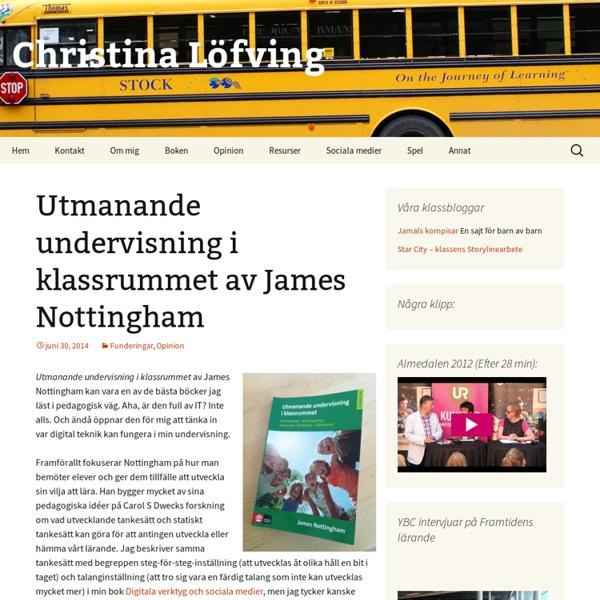 Utmanande undervisning i klassrummet av James Nottingham