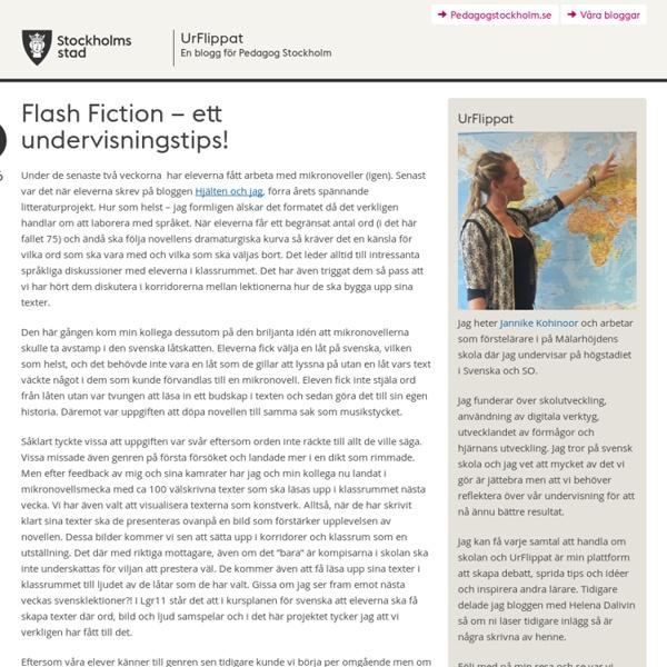 Flash Fiction – ett undervisningstips!