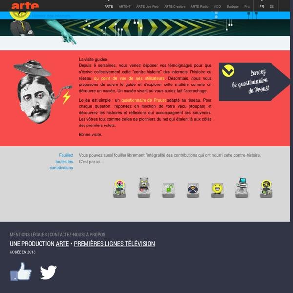 Une contre-histoire des internets - ARTE
