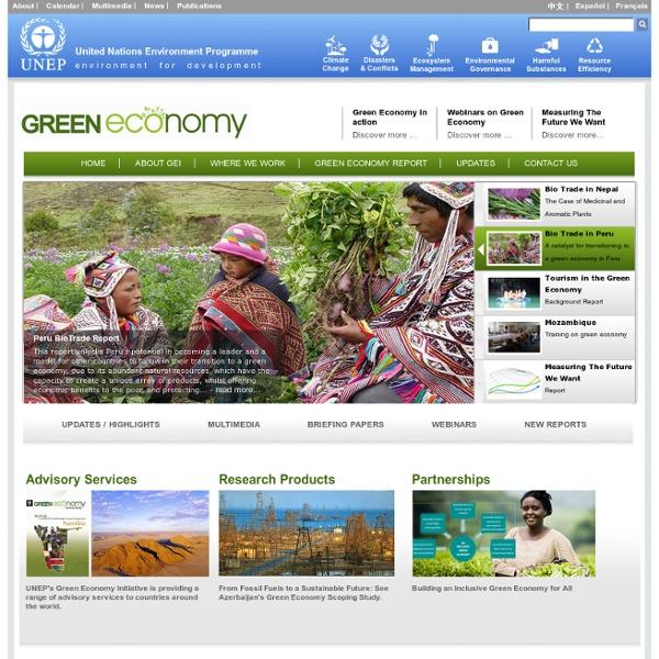 Green Economy Initiative - Home