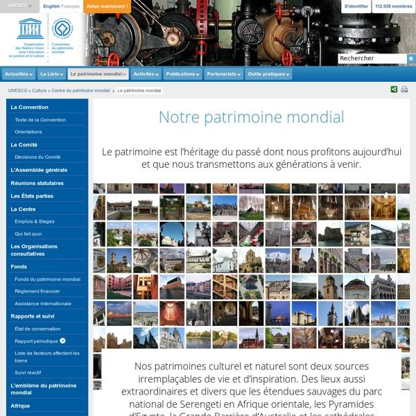 Centre du patrimoine mondial - Notre patrimoine mondial