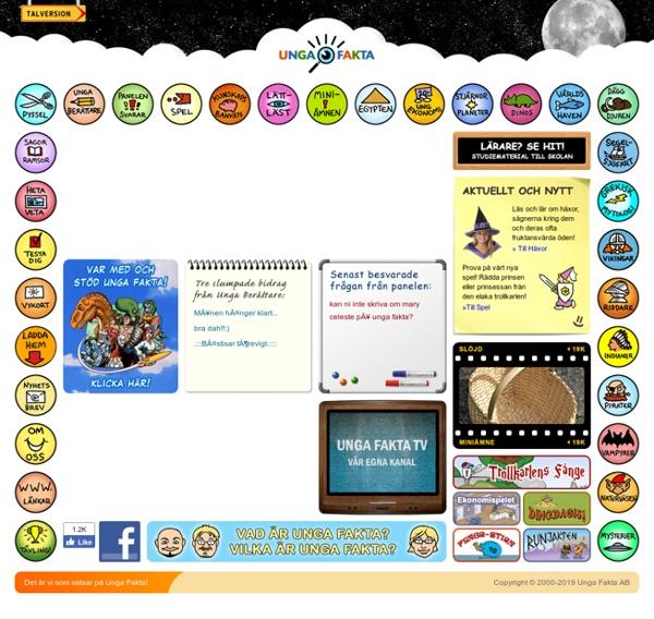 Unga Fakta - en sajt för nyfikna!