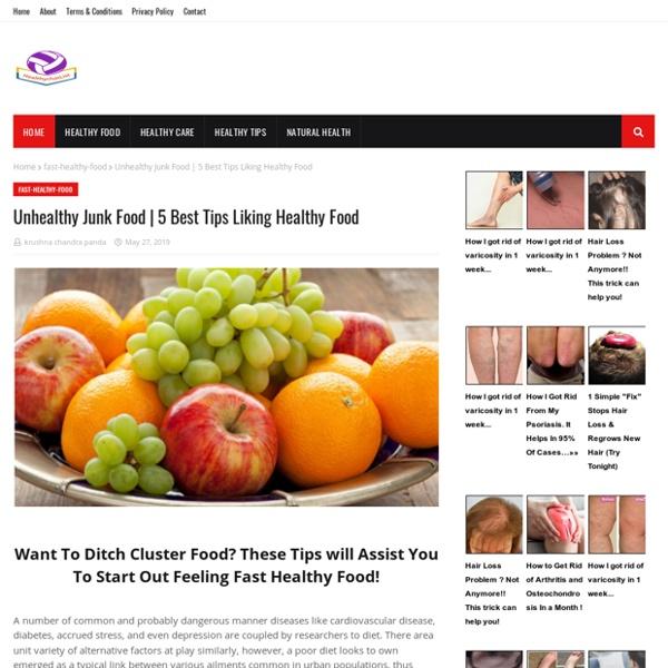 5 Best Tips Liking Healthy Food
