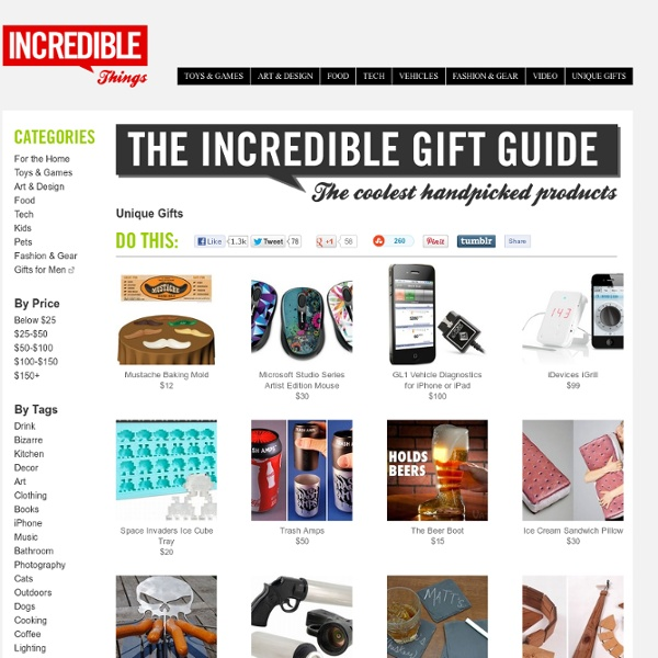 Incredible Things - Unique Gifts