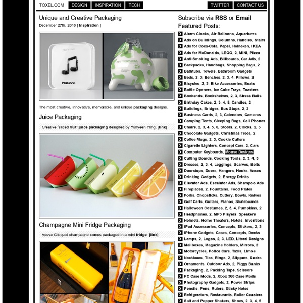 Apresentaçao Romenia - Unique and Creative Packaging