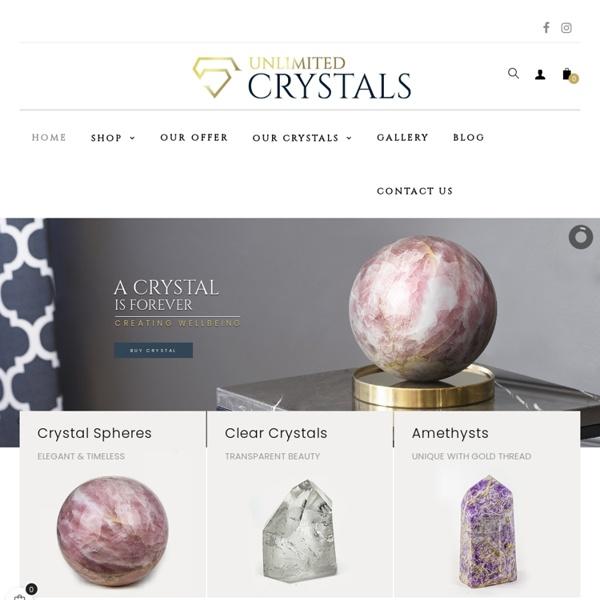 Unique crystals quartz.