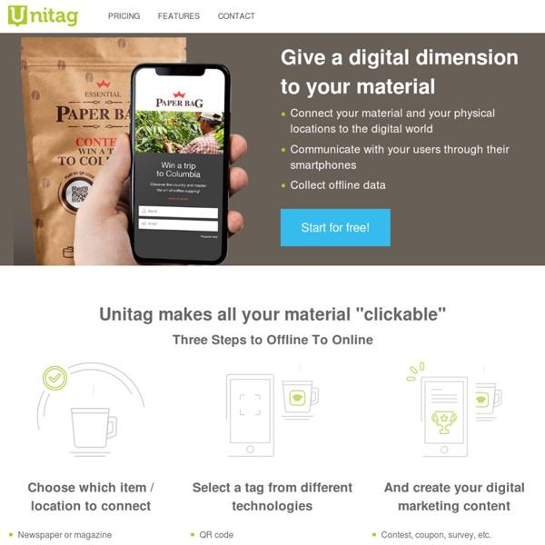 Unitag - Offline To Online platform