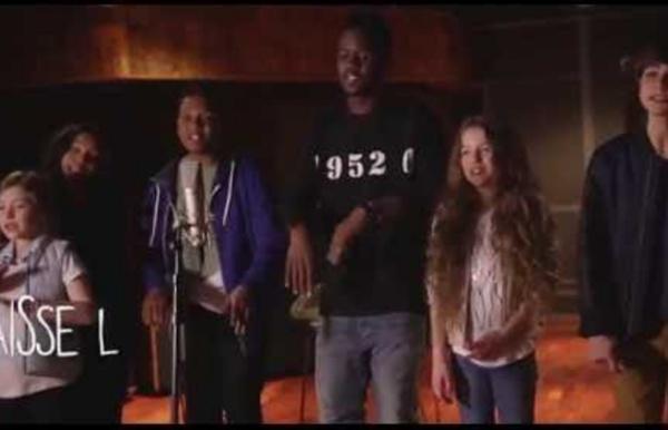 Kids United - Sur Ma Route - En duo avec Black M (Lyrics Video - Officiel)