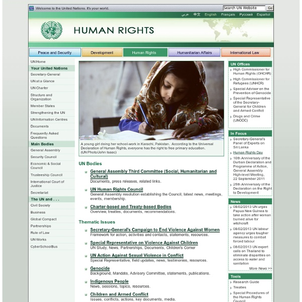 United Nations: Human Rights