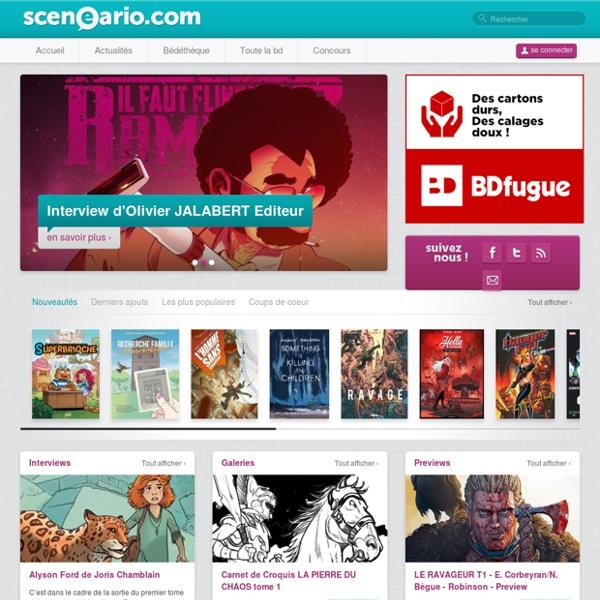 Toute la bande dessinée sur Sceneario.comSceneario.com