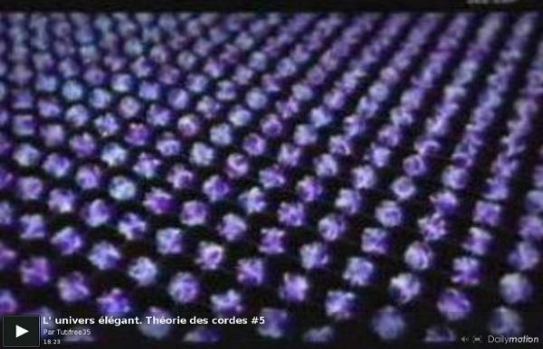 L' univers élégant. Théorie des cordes #5 - une vidéo High-tech et Science