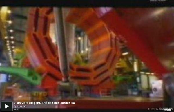 L' univers élégant. Théorie des cordes #8 - une vidéo High-tech et Science