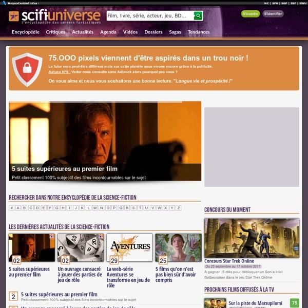 L'encyclopédie des Univers Fantastiques, Science-Fiction, Fantasy et Horreur - SFU