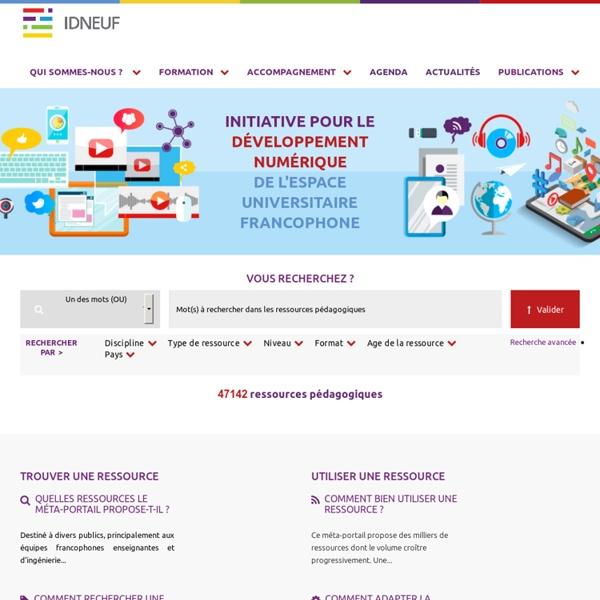 L'initiative pour le développement numérique