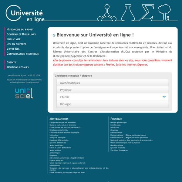 Université En Ligne