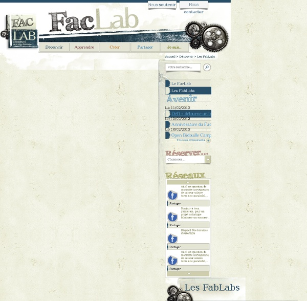 » Les FabLabs