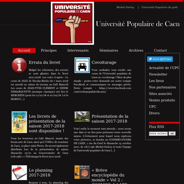 Université Populaire de Caen