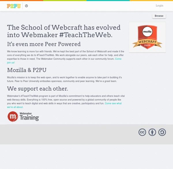 School of Webcraft