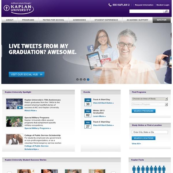 university online programs