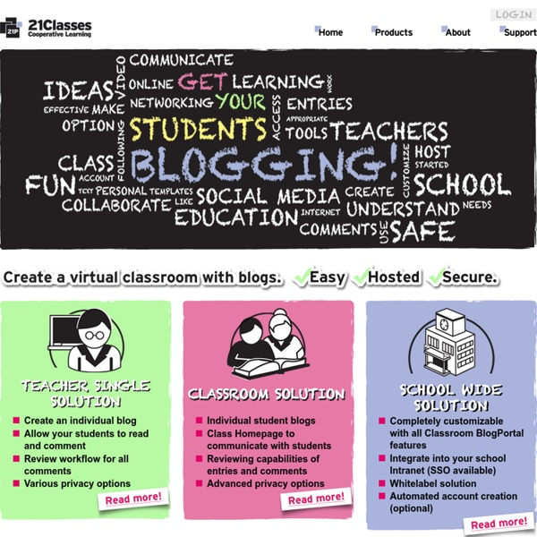 21Classes - Classroom and Education Blogs