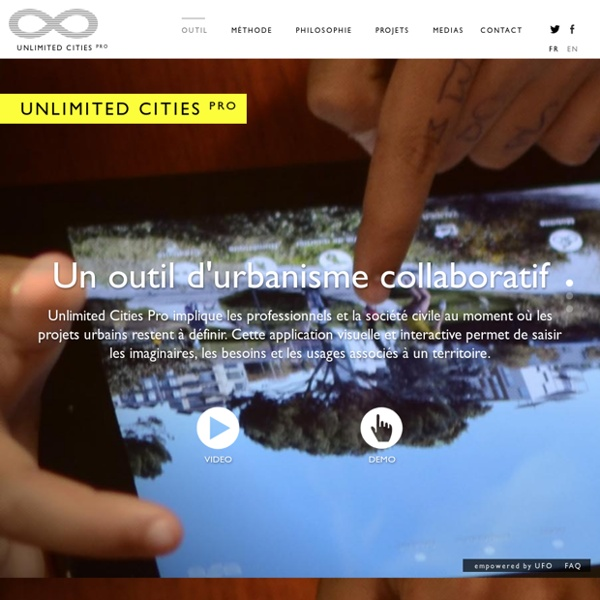 Unlimited Cities - Accueil