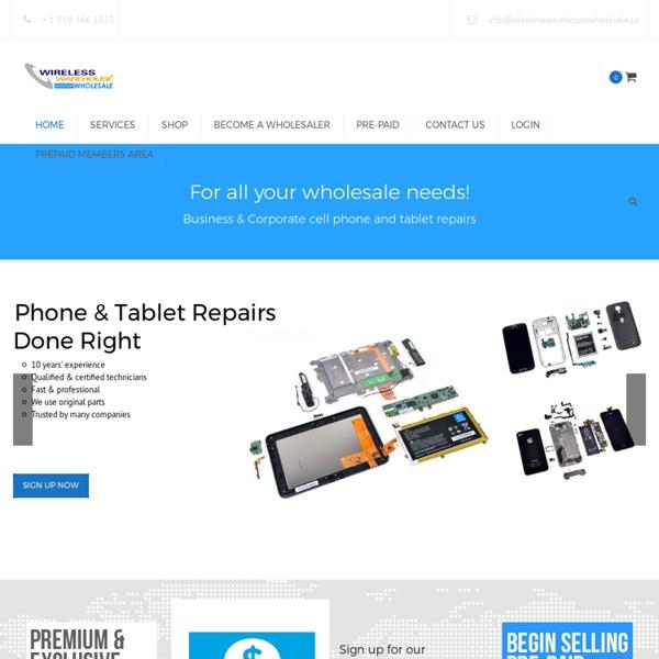 Cellular Parts Wholesale Ontario