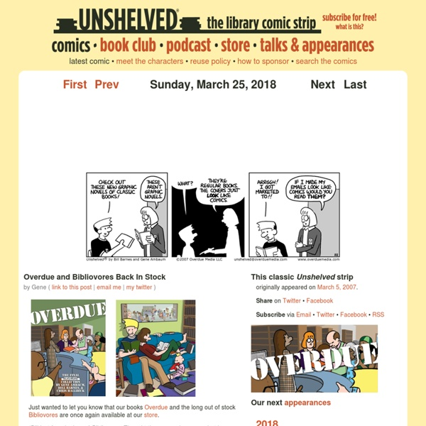 Unshelved by Gene Ambaum and Bill Barnes