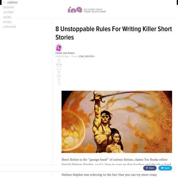 8 Unstoppable Rules For Writing Killer Short Stories