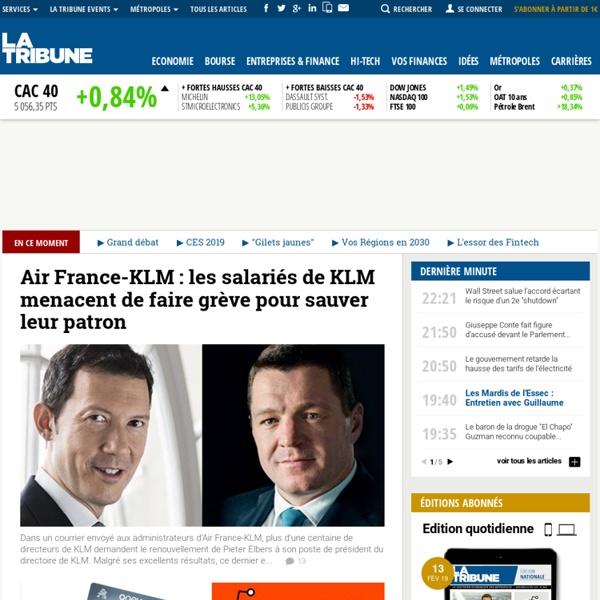 Actualité économique et financière, bourse - Journal quotidien La Tribune